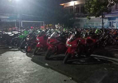 101 Motor knalpot Brong Diamankan Polres Klaten